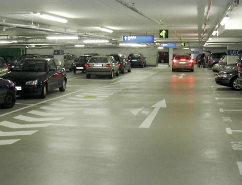 Tiefgarage Airport City P8, Airport Düsseldorf